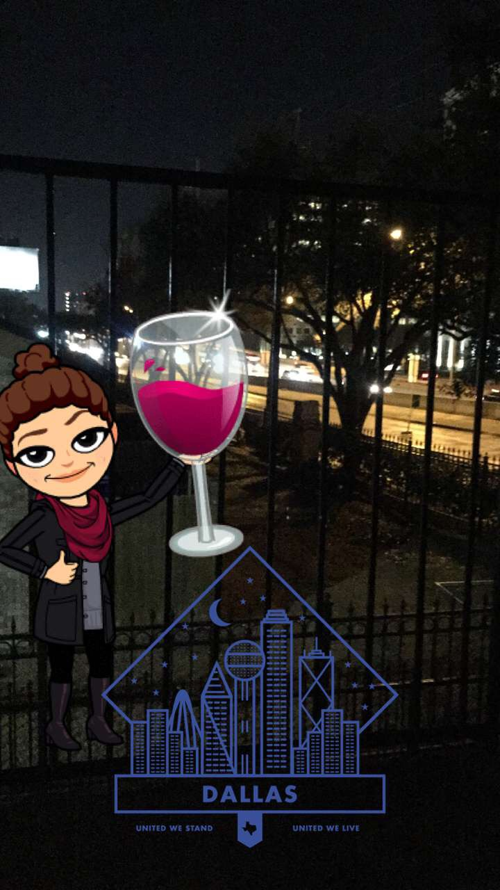 bitmoji-drinking-wine
